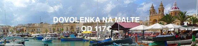 Dovolenka na Malte